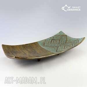 ceramika patera duet, patera, naczynie, prezent, unikalny