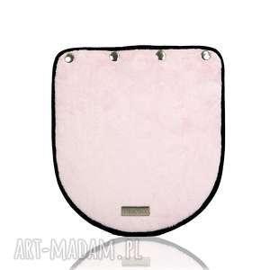 klapka puro 268 pastel pink, klapka, różowa, minky, plusz