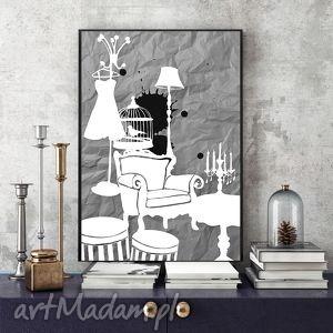 art print 30x40 cm , grafika, plakat, 30x40, wnętrze, eleganckie, kobiece