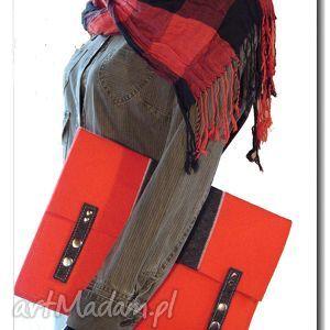 torba pokrowiec teczka filc hand made, torebka, torba, teczka, torebki