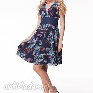 Sukienka Carolina, moda, wesele, kwiaty