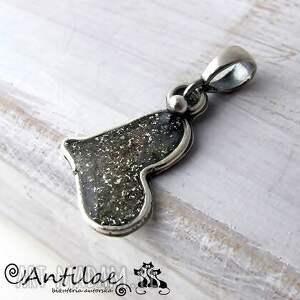 cori ii - srebro, żywica, wisiorek, serce wisiorki biżuteria