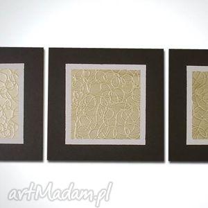 obrazy ręcznie malowany nowoczesny satynowy-120x40cm, obraz, płótno, recznie