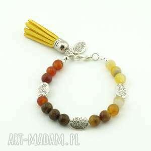 mix minerałów ii, agat, marmur, chwost biżuteria, święta prezent