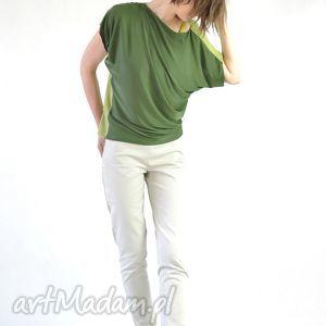 oryginalny prezent, nah nu elle - bluzka, kolorowa, dzienna, praca, oversize, luźna