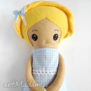 lalka eliza - mała artystka, lalka, szmacianka, prezent, przytulanka dla dziecka