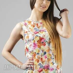 tessita bluzka adela 2, lekka, zwiewna, modna, wygodna, szyfon, kwiaty ubrania