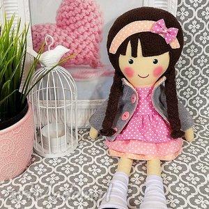 Prezent MALOWANA LALA DIANA, lalka, zabawka, przytulanka, prezent, niespodzianka