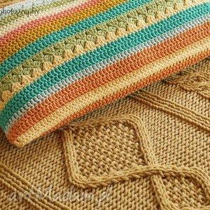 pod choinkę prezent, poduszka multikolor no 5, poduszka, poszewka, bawełna, kolorowa