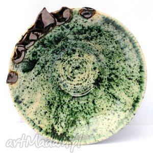 malgorzata wosik ceramiczna miseczka - liściasta nr 112 , miska, naczynie, ceramika
