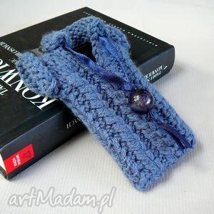 etui-sweterek na smartfona, prezent, upominek, smartfon, telefon, włóczka, pokrowiec