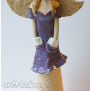 ceramika anioł z wianuszkem ii, anioł, dom