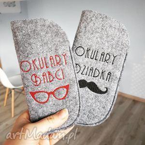etui na okulary babci, etui, okulary, filcowe, haft, babcia, wyjątkowe