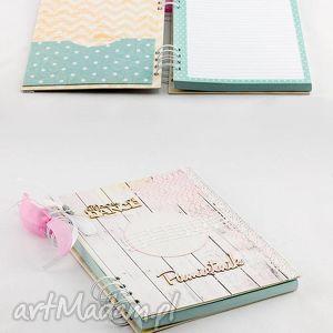 notesy pamiętnik - sekretnik, pamiętnik, notatnik, prezent, dziewczynka