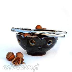 malgorzata wosik tilajtówka - ceramiczna miseczka, świecznik, świecznik