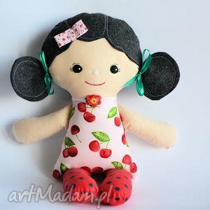cukierkowa lala - weronika 40 cm, lalka, wisienka, cukierek, dziewczynka