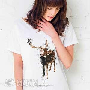 DEER PAINTED T-shirt Oversize, oversize