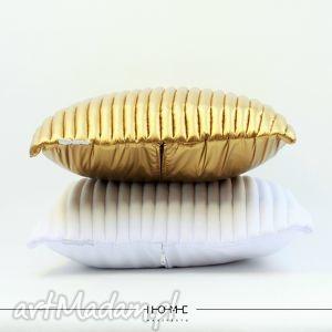 poduszki komplet poduszek colors 50 white, gold, poduszki, poduchy