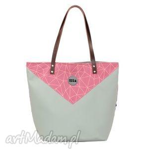 na ramię torba worek triangle 3, worek, niejelegancka, wygodna, pojemna, manamana