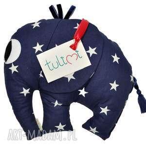 pokoik dziecka poduszka dla słonik starlit sky dark mały, poduszki, dekoracja