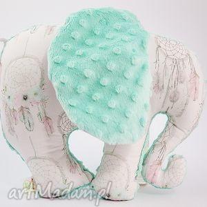słoń łapacze mięta, przytulanka, maskotka, słoń, słonik maskotki