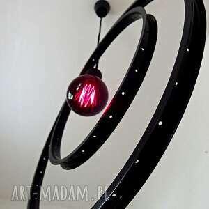 lampa wiząca rims, lampa, żyrandol, wisząca, czarna, rower, prezent dom