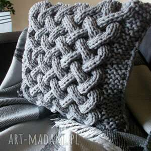 handmade poduszki poduszka splatana