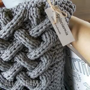 poduszki sznurek poduszka splatana
