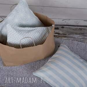 turkusowe poduszki poszewka na poduszkę lodowa mięta
