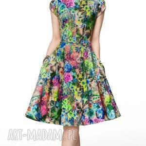 sukienka sukienki niebieskie april midi aisza
