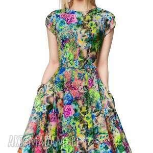 modne sukienki letnia sukienka april midi aisza