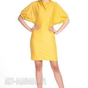 sukienki moda sukienka marcela - żółta
