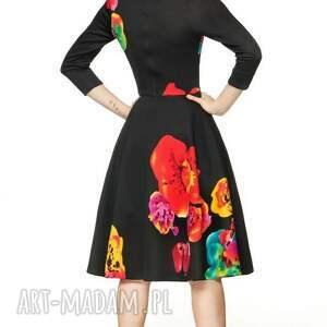 oryginalna sukienki sukienka star 3/4 midi marika