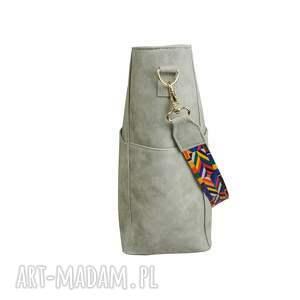 torebki duży manzana kuferek zamszowy etno