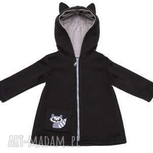 hand-made ubranka płaszczyk bluza/płaszczyk z kapturem i