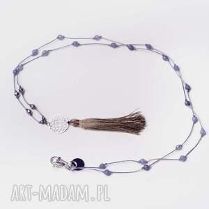 handmade wisiorki długi whw steel boho #5