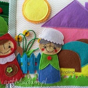 quiet zabawki turkusowe plansza edukacyjna - czerwony