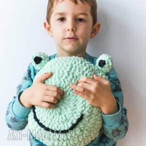 zabawki maskotka przytulak żaba - ręcznie